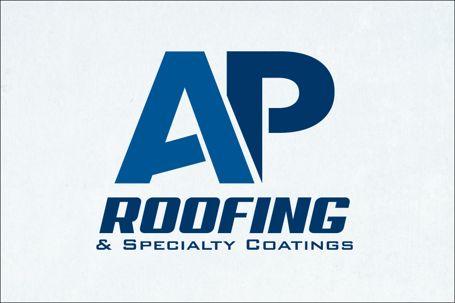 AP Roofing and Specialty Coating - Wichita Logo Design