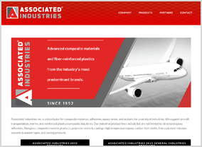 Associated Industries Inc. Website
