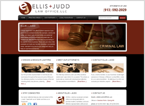Ellis & Judd Law Office Website