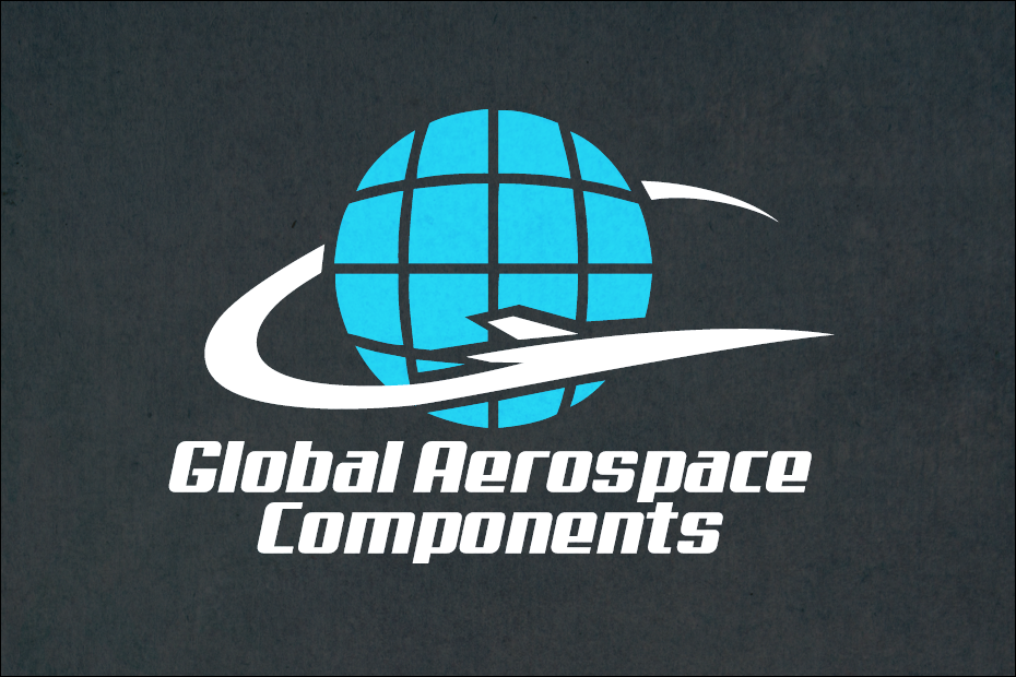 Global aerospace components logo wichita logo design for Global design company