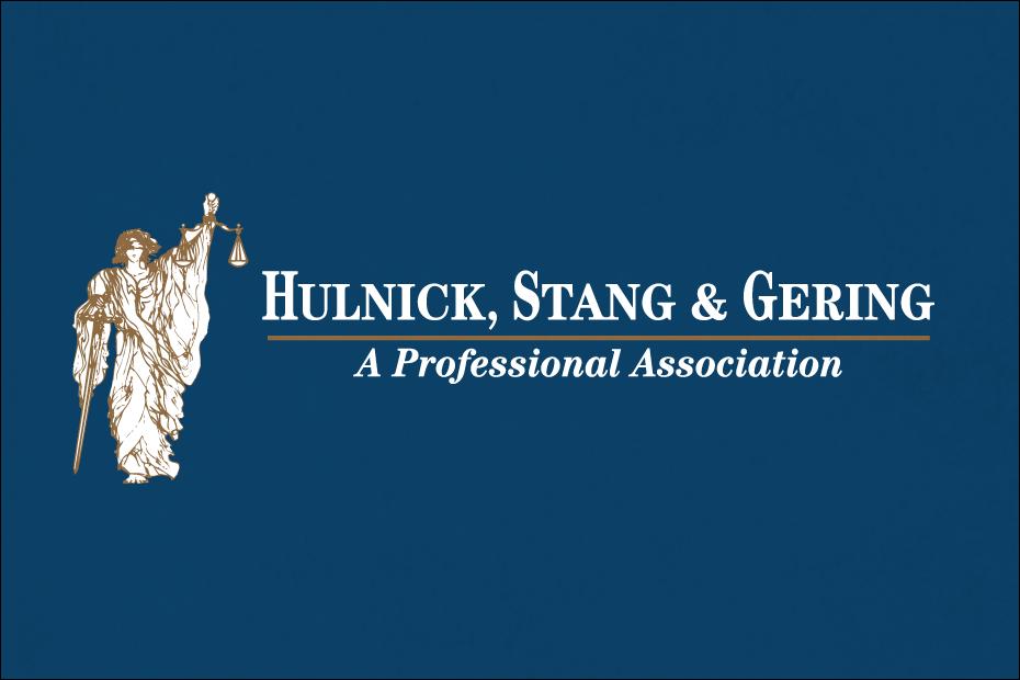 Hulnick Law - Wichita Logo Design