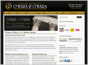 O'Hara & O'Hara Law Website