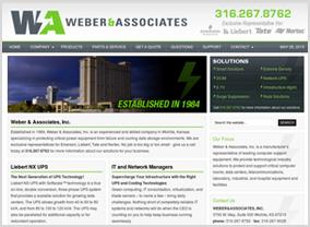 Weber & Associates Website